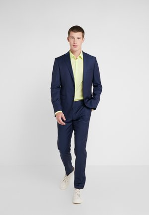 SLIM FIT SOLID SUIT - Traje - blue