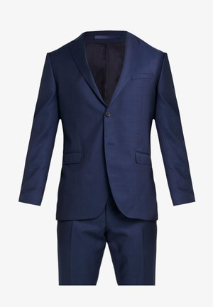 SLIM FIT SOLID SUIT - Kostym - blue