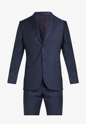SLIM FIT SOLID SUIT - Completo - navy