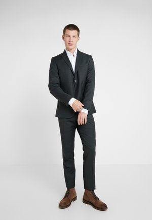 SLIM FIT SOLID SUIT - Completo - green