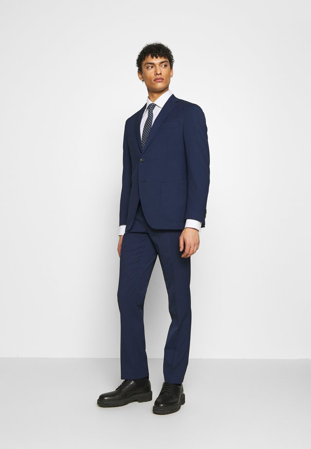 SLIM FIT SUIT - Kostuum - navy