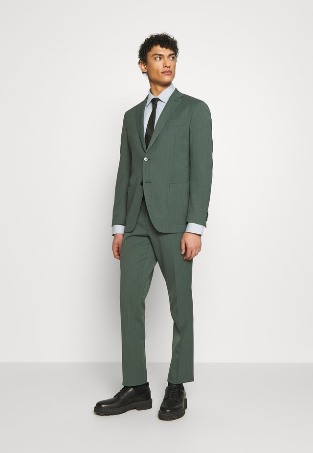 SLIM FIT SUIT - Kostym - green