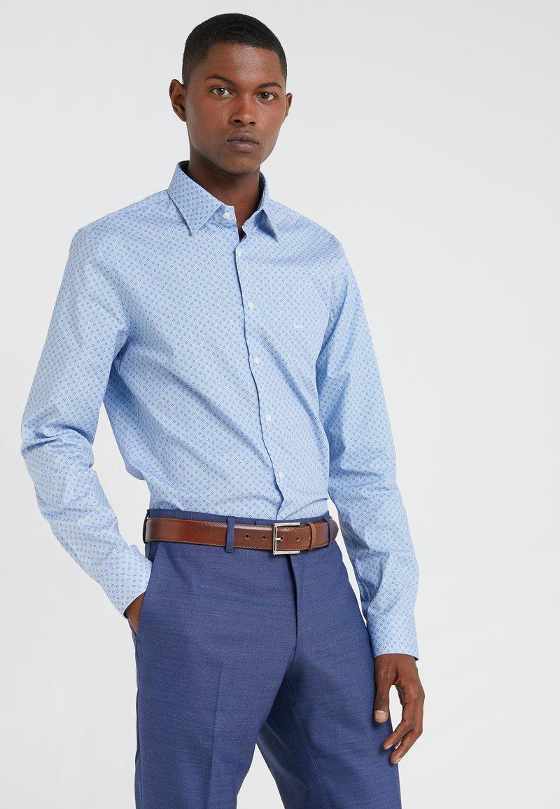 Michael Kors - RALEIGH SLIM FIT  - Shirt - light blue