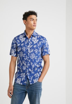 CORAL PRINT - Camisa - twilight blue