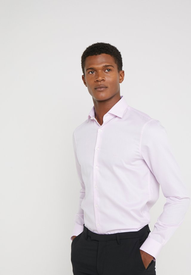 PARMA SLIM FIT SOLID - Business skjorter - pink