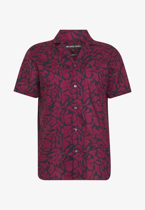 PRINT LAWN - Shirt - cassis