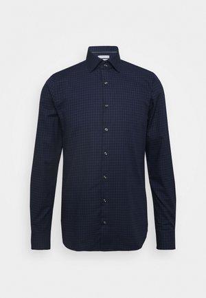 CHECK EASY CARE SLIM - Zakelijk overhemd - navy