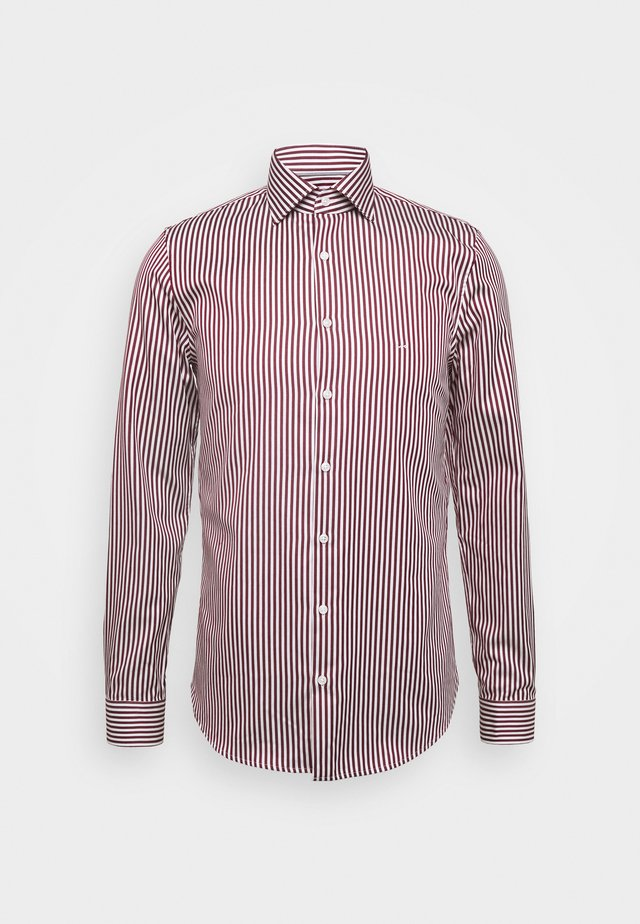BOLD STRIPE EASY CARE SLIM - Formal shirt - rumba red