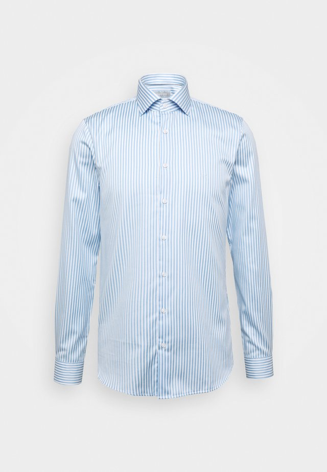 BOLD STRIPE EASY CARE SLIM - Zakelijk overhemd - light blue