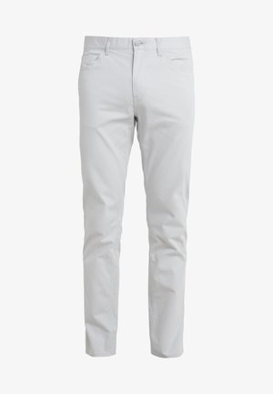 STRETCH BRUSHED POCKET PANT - Trousers - pearl grey