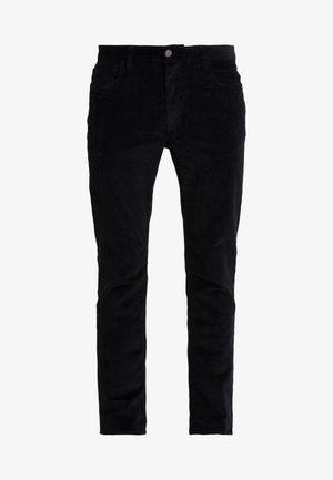 STRETCH PARKER - Trousers - black