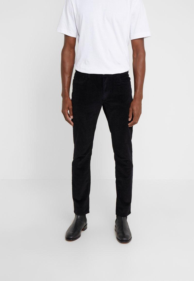 Michael Kors - STRETCH PARKER - Trousers - black