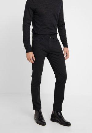 POCKET PANT - Spodnie materiałowe - black