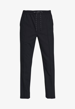 HYBRID PINTUCK PANT - Pantaloni - dark midnight