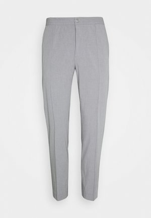 HYBRID PINTUCK PANT - Broek - heather grey