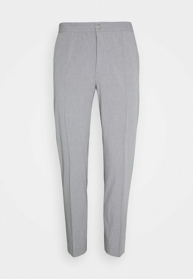 HYBRID PINTUCK PANT - Tygbyxor - heather grey