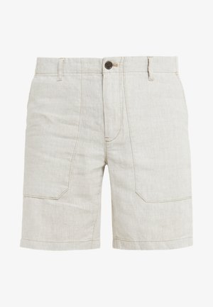 YARN DYED JUGLE - Shorts - beige