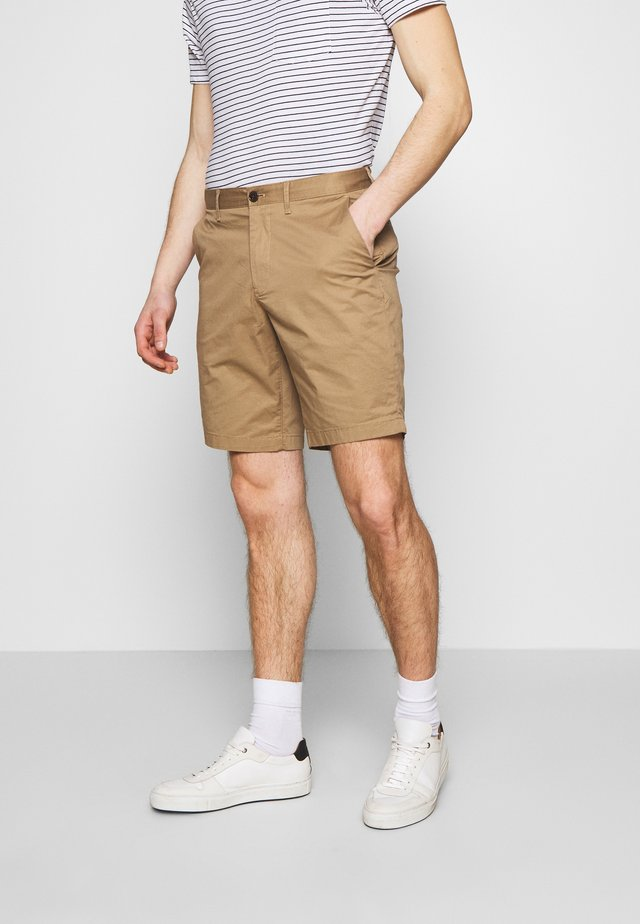 WASHED - Shorts - camel