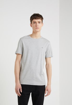 SLEEK CREW NECK  - T-shirts - heather grey