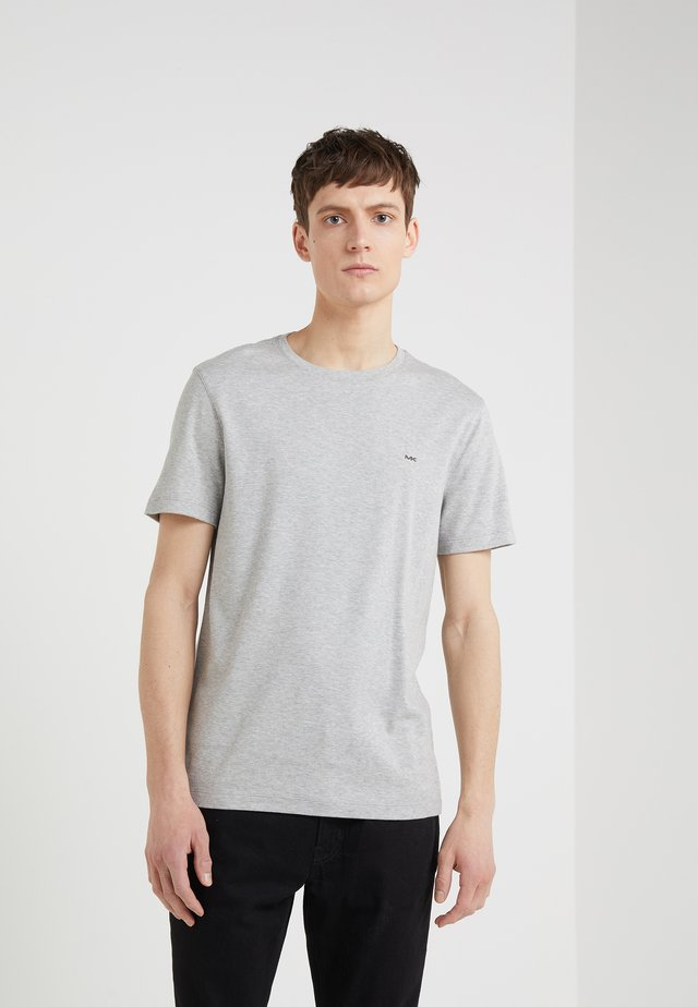 SLEEK CREW NECK  - T-shirt - bas - heather grey