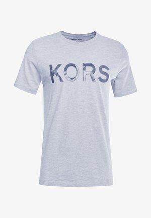 GEL GRAPHIC TEE - Camiseta estampada - heather grey