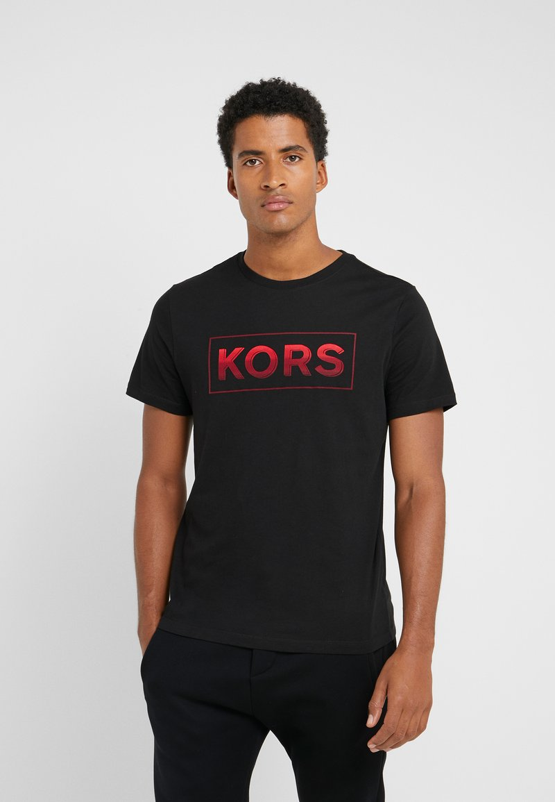 Michael Kors - GEL GRAPHIC TEE - Camiseta estampada - black