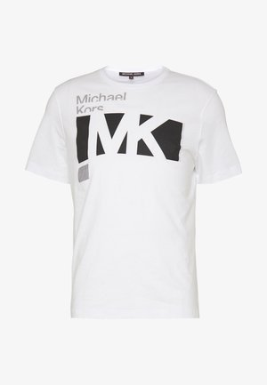 CITY TEE - T-shirt con stampa - white