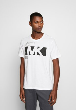 CITY TEE - T-shirt z nadrukiem - white