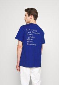 Michael Kors - CITY TEE - T-shirt print - twilight blue - 2