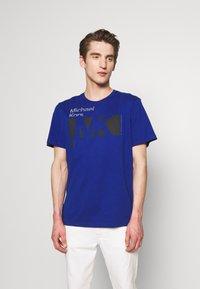 Michael Kors - CITY TEE - T-shirt print - twilight blue - 0