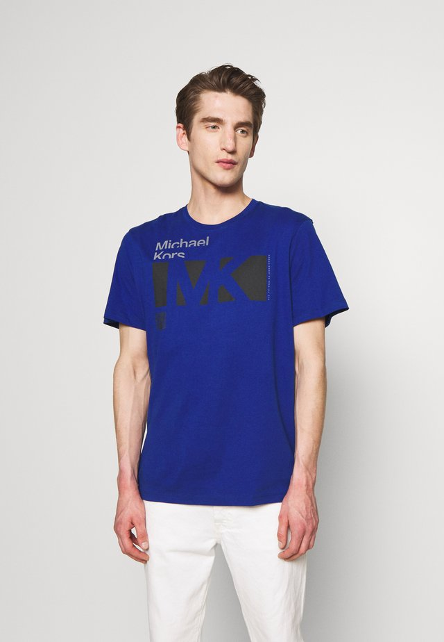 CITY TEE - Camiseta estampada - twilight blue