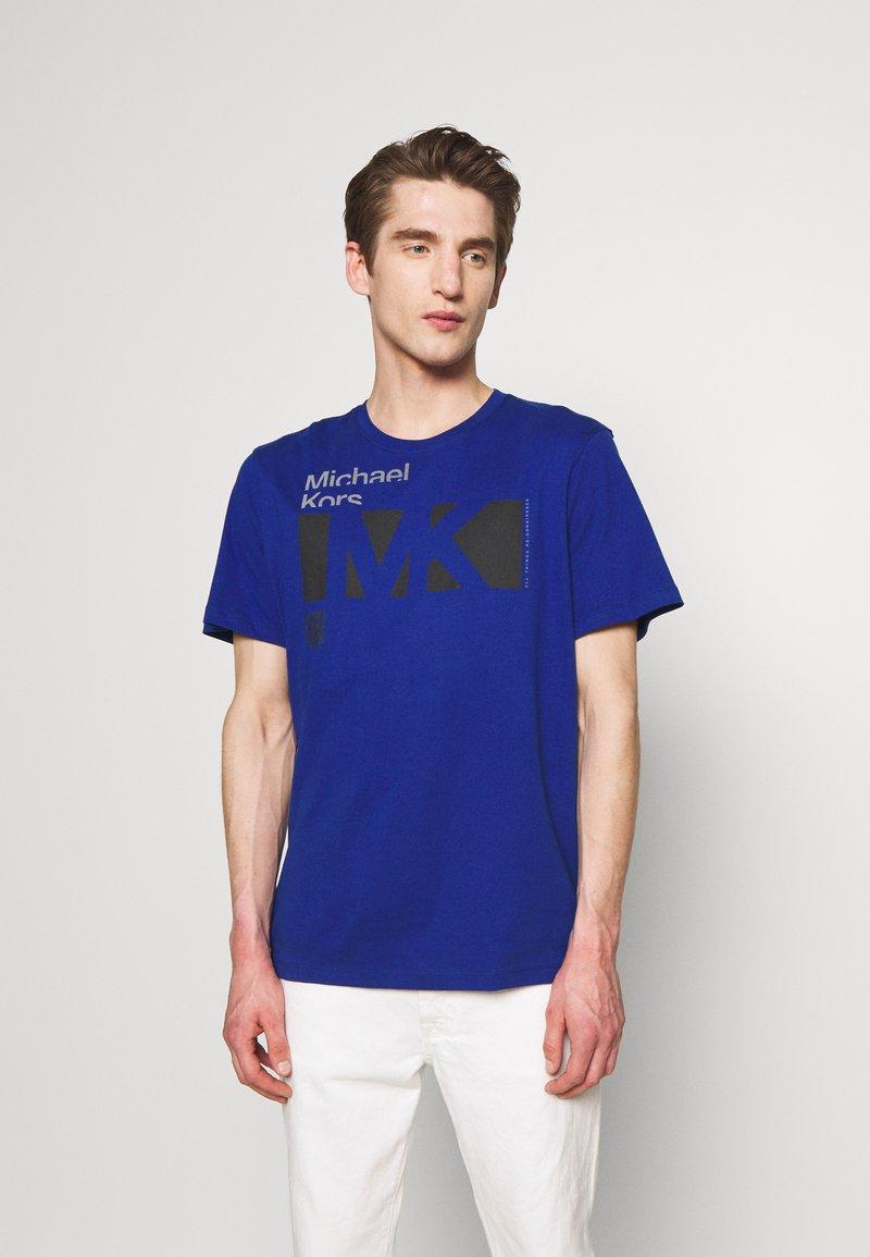 Michael Kors - CITY TEE - T-shirt print - twilight blue