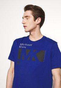 Michael Kors - CITY TEE - T-shirt print - twilight blue - 3