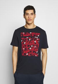 Michael Kors - SCATTERED LOGO TEE - T-shirt con stampa - dark midnight - 0