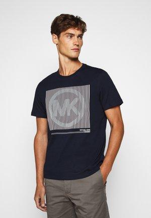 TONAL TEE - Camiseta estampada - dark midnight