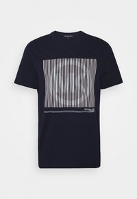 Michael Kors - TONAL TEE - Print T-shirt - dark midnight - 4