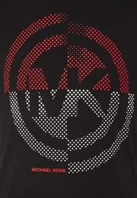 Michael Kors - TARGET TEE - Camiseta estampada - black - 2