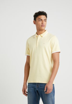 GREENWICH - Polo - washed yellow melange