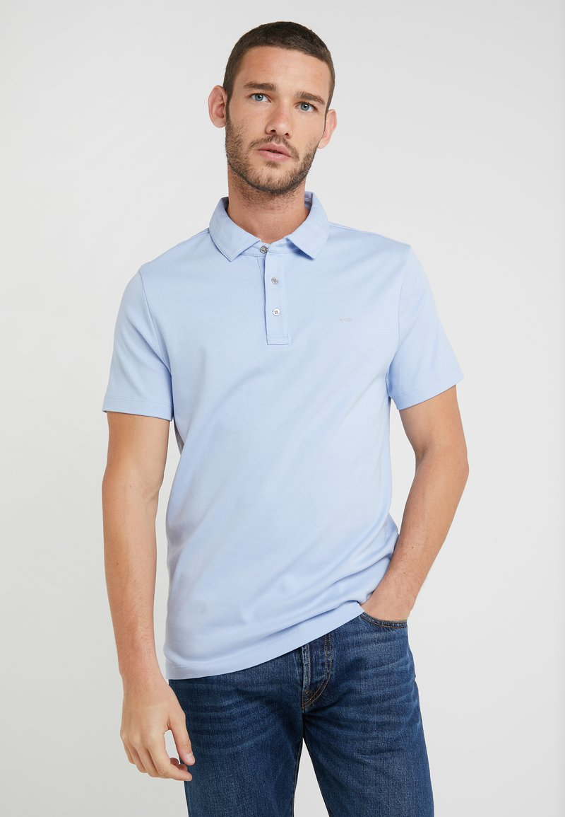 Michael Kors - SLEEK - Polo shirt - steel blue