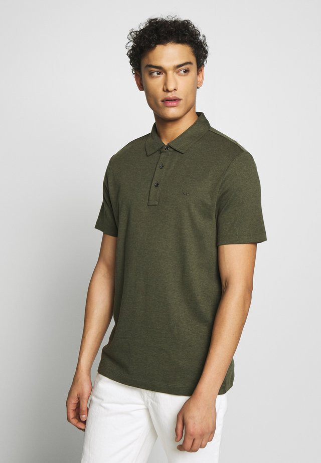 SLEEK - Polo - ivy melange