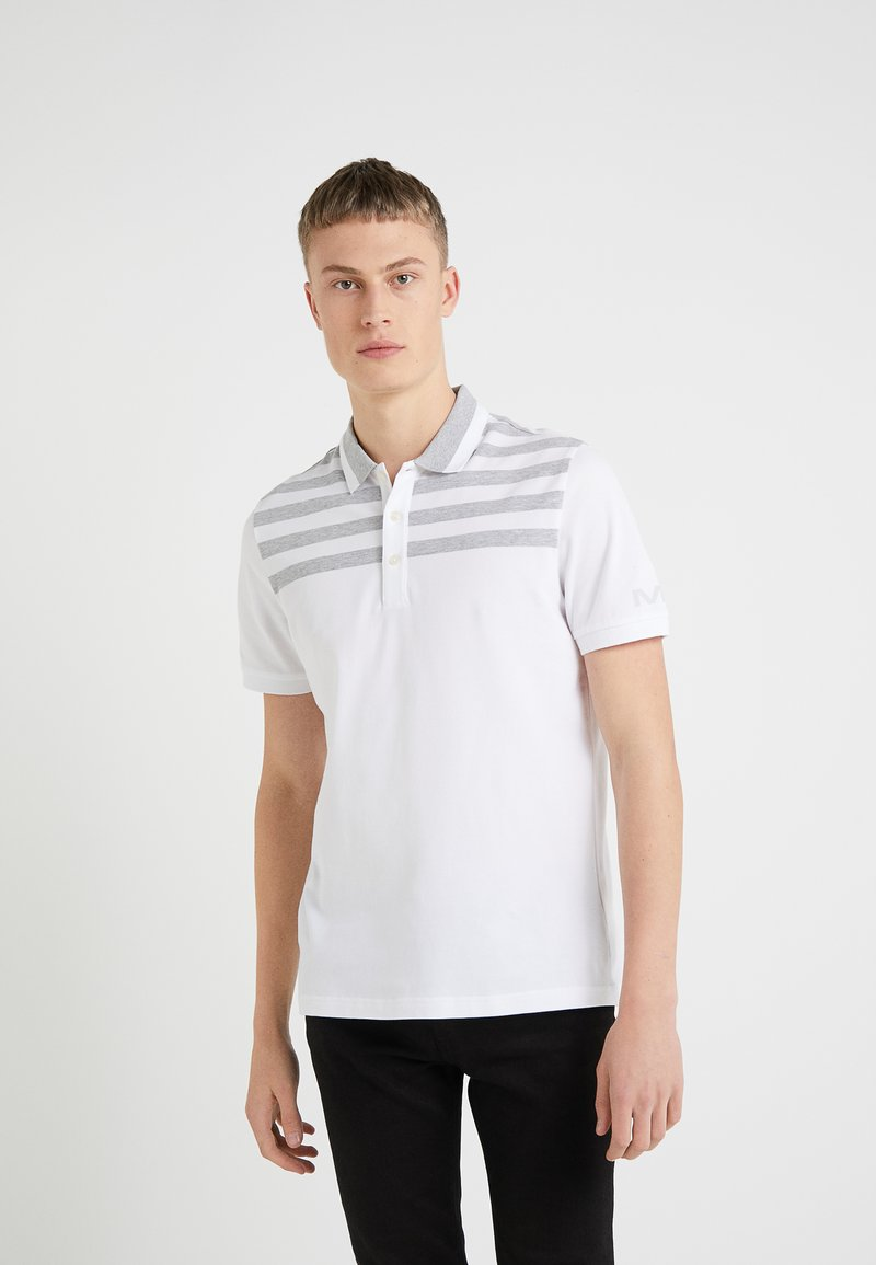 Michael Kors - YOKE STRIPE - Polo - white