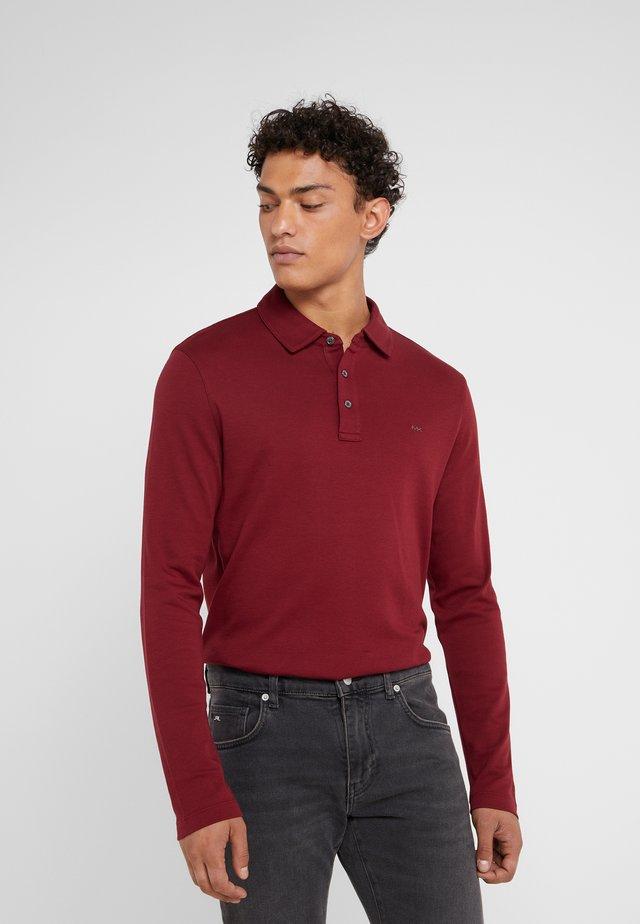 SLEEK - Polo shirt - merlot