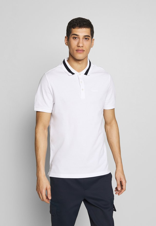 BOLD TIP - Polo shirt - white