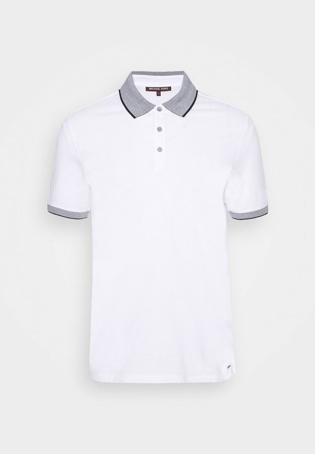 LOGO COLLAR  - Polo shirt - white