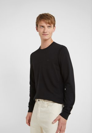 SLEEK CREW NECK SWEATER - Pullover - black