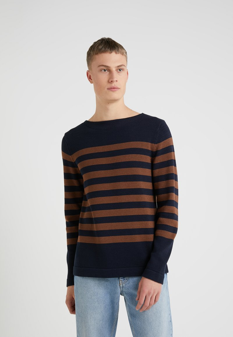 Michael Kors - BOATNECK CREW SWEATER - Jersey de punto - copper