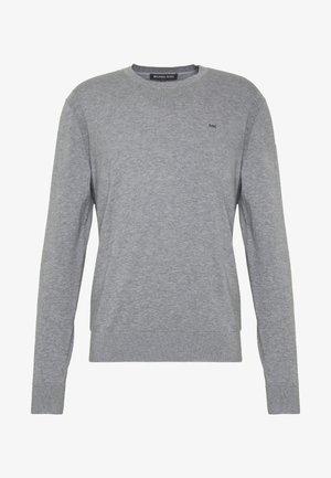 CREW NECK - Strickpullover - heather grey