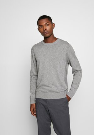 CREW NECK - Pullover - heather grey
