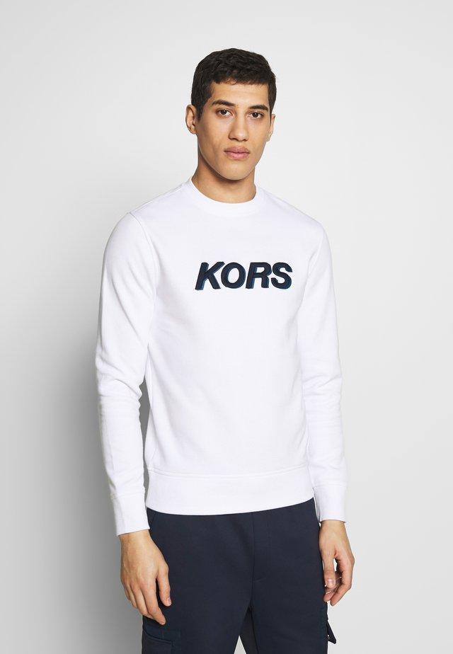 LOGO - Sweater - white