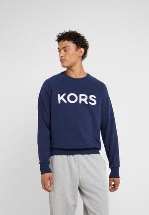 TERRY LOGO - Sweatshirt - dark blue